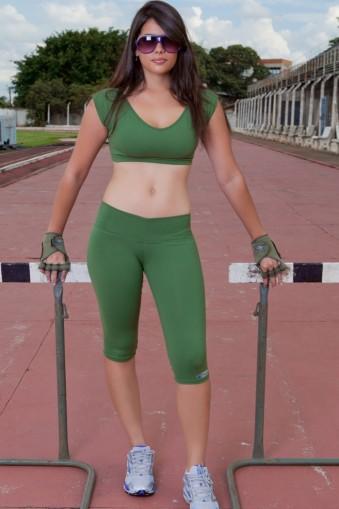 Legging fitness lisa básica-Verde