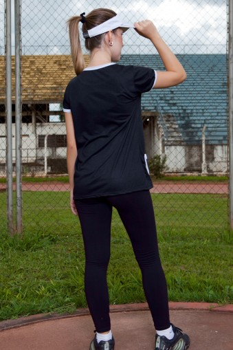Legging fitness longa básica-Preto