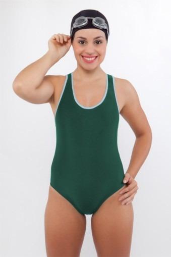 Maiô Nadador Hidroginástica-Verde