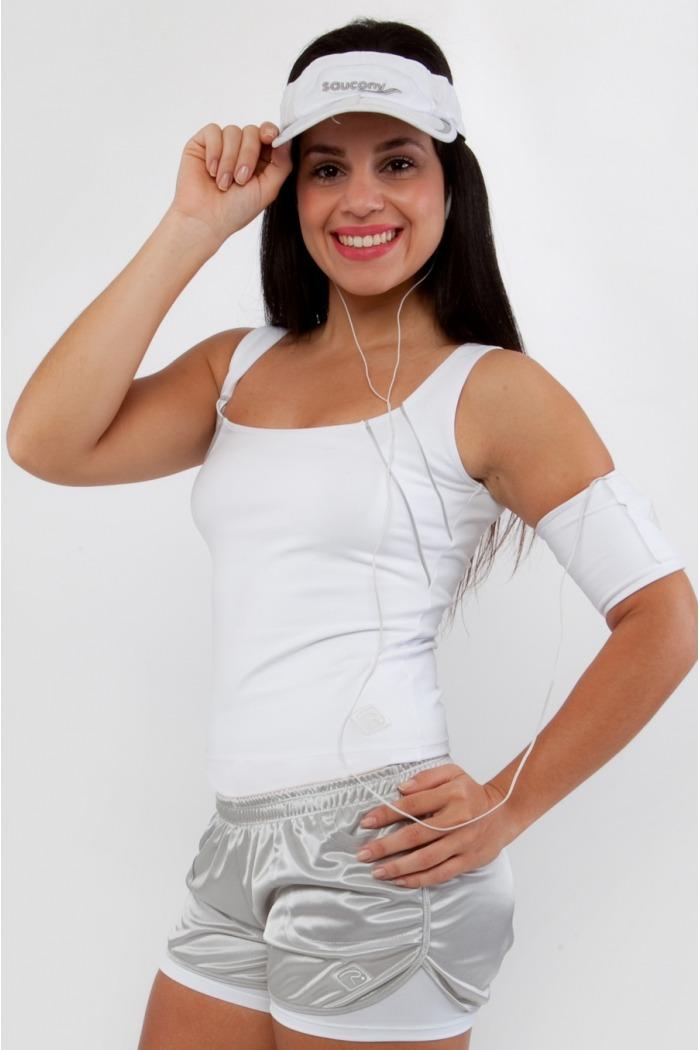Blusa fitness básica-Branca